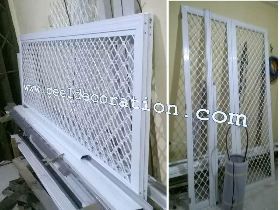 Kawat Nyamuk Teralis Expanda Aluminium Frame Aluminium Sheet